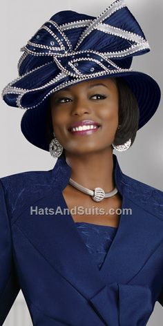 Image detail for -donna vinci couture church hat h1369 beautiful designer hat by