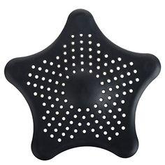 Cren® Black Starfish Hair Catcher Bath Sink Strainer Shower Stall Drain Protector Cover Trap Basin Cren http://www.amazon.com/dp/B00WW8903Q/ref=cm_sw_r_pi_dp_t74Awb1J0S60X