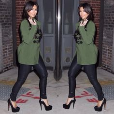 Kim Kardashian style #fashion #style