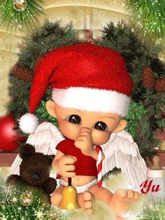Малыш Санта - анимация на телефон №944487