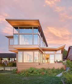 Elliot Bay House by FINNE Architects - CAANdesign