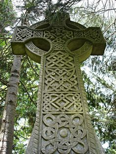 Beautiful Stone Celtic Cross