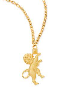 Um colar leonino.