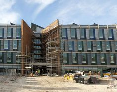 New Academic Building, approaching completion