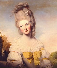 1780 (published) Lady Elizabeth Compton by Matthew William Peters (Pyms Gallery) | Grand Ladies | gogm