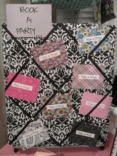 "Thirty One Hostess ""Pick A Prize"" Board"