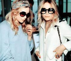 Mary-Kate & Ashley Olsen rocken Paris!