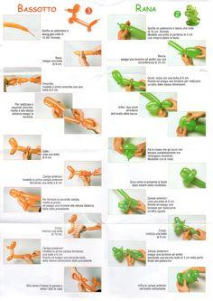 istruzioni palloncini modellabili - Cerca con Google
