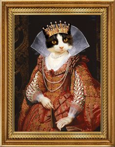 New Year Postcard, Fancy Cats, Cat People, Jolie Photo, Vintage Cat, Cute Cats And Kittens, Hamsters, Renaissance Art, Pet Clothes