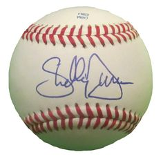 Shelley Duncan Autographed Rawlings ROLB1 Leather Baseball, Proof Photo