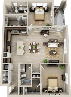 small house floor plans with measurements