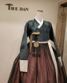 Our haute couture, beautiful The Dan Hanbok. Made just for you, for your special day. Korean Traditional Dress, Traditional Fashion, Traditional Outfits, Korean Dress, Korean Outfits, Korean Fashion Trends, Asian Fashion, Modern Hanbok, Culture Clothing