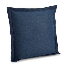 Laria Plain Navy Blue Cushion | Departments | DIY at B&Q