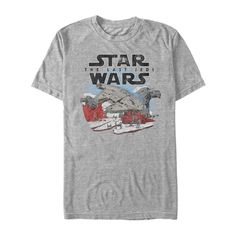 STAR WARS The Last Jedi Roll with It Camiseta para Hombre