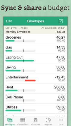Goodbudget Budget Planner - Expense Tracker & Personal Finance Manager by Dayspring Technologies