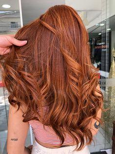 Brown Wavy Hair, Brown Hair Balayage, Ginger Hair Color, Hair Color For Black Hair, Which Hair Colour, Bronze Hair, Gorgeous Hair Color, Hair Color Auburn, Hair Affair