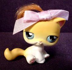 Littlest Pet Shop Purr-Fection Salon Kitty#42, 2004 Hasbro