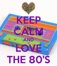 Keep calm and love the 80's in the Group Board ♥ 80's FASHION group board http://www.pinterest.com/yourfrenchtouch/80s-fashion