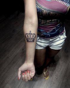 Beautiful Crown Tattoos
