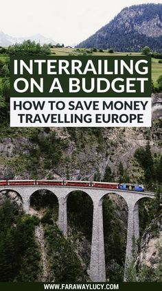 Interrailing on a budget: how to save money travelling Europe.This guide helps students, young people and anyone else wanting to interrail around Europe on a budget. My tips and tricks will help you save money, prioritise what is most important to you and have a great time travelling around Europe! Click through to read more... #savemoneytraveling #budgettravelandmore #budgettraveleurope