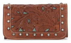 American West Everyday Cowgirl Tri-Fold Leather Wallet available at #Sheplers