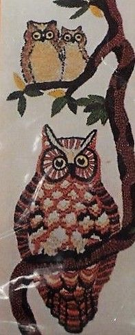 Owl in a tree