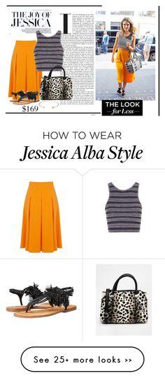 """Jessica alba street style"" by dukeyndani on Polyvore"