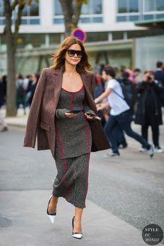 Paris SS 2017 Street Style: Christine Centenera