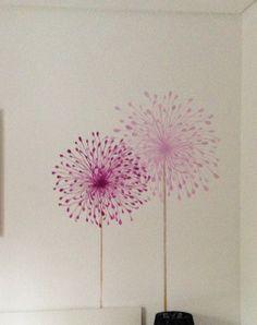 decoracion  mural en cabeceros