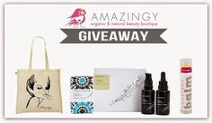 Pedrinhas no Sapato: Amazingy International Giveaway!