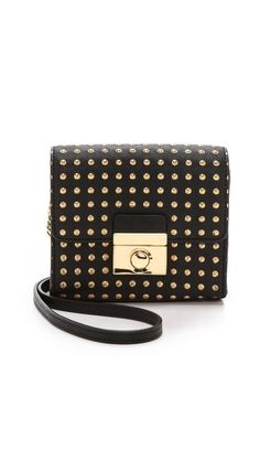 Milly Sienna Dots Mini Cross Body Bag
