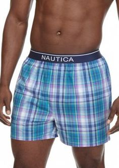 Nautica  Plaid Woven Boxers