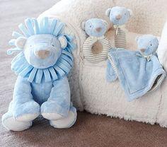 Nursery Lion Plush Collection - #nursery #jungle #theme #kidsrooms #plush #toys #lion