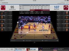 NBA Game Time iPad app