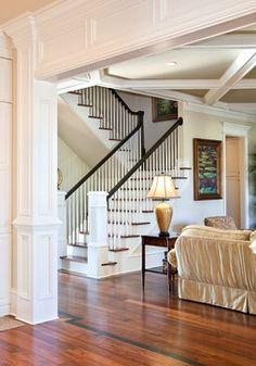 Quinlan Residence - traditional - staircase - charleston - Jamison Howard