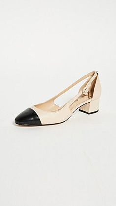 0fb8dcab96e97 online shopping for Sam Edelman Leah Cap Toe Pumps from top store. See new  offer for Sam Edelman Leah Cap Toe Pumps