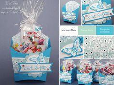 """Stampin'Up! - Boîtes cadeaux pour enfants """"Bigz L Portion de frites"""""""