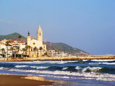 Sitges / Spain by Adinqa, via Flickr