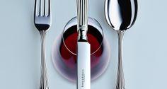 Robbe & Berking modern silver cutlery   Harlequin London #modern #silver #cutlery #silverware #yachts