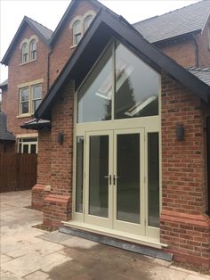 Solid Accoya Doors & Frame - Fully Painted Using Farrow & Ball - Fully Fitted - From Cheshire Joinery Ltd