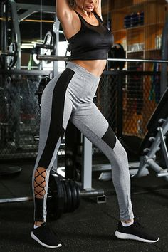 The Unstoppable Strappy Legging Sports Leggings, Tight Leggings, Cute Workout Outfits, Yoga Pants, Sporty, How To Wear, Women, Style, Fashion