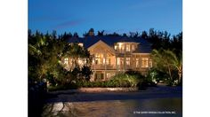 The portfolio of luxury homes from Sater Group is quite extensive. We have many custom luxury home plans to offer. Beach House Plans, Luxury House Plans, Cottage House Plans, Cottage Homes, Coastal Cottage, Coastal Homes, Custom Home Plans, Florida Style, Country Style House Plans