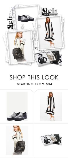"""""""Shein 10"""" by amelaa-16 ❤ liked on Polyvore featuring Chanel and shein"""