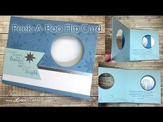 Peek-A-Boo Flip Card Tutorial - Made Simple - YouTube