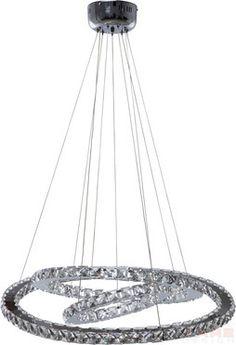 Pendant Lamp Universe Crystal LED Ø70cm by KARE Design #gold #glitter #glamour #diamonds #sparkle #blingbling #baroque #luxury #KARE #KAREDesign