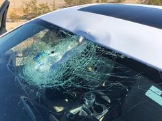The boulder came flying at me like a cannonball, were my thoughts right after a large rock assaulted my car. This is what happened and how I made new friends at the California Highway Patrol.