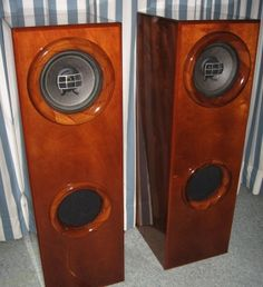 """Pioneer PAX-A20 ,Vintage Speakers, Fullrange Driver - 2.8 cu. ft Bass Reflex Cabinet - DIY Audio Projects"" !...  http://about.me/Samissomar"