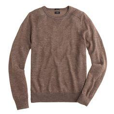 J.Crew - Slim Sedona sweater in Aubergine & Hazelnut