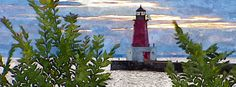 Menominee North Pier Lighthouse Facebook Timeline Covers