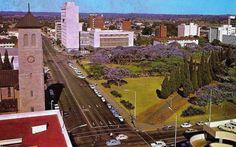 Cecil square, Salisbury, Rhodesia